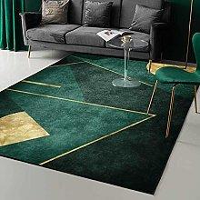 GYMS Carpet, Emerald dark green simple golden