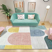 GYMS Carpet, Nordic Gradient Circle Geometric