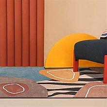 GYMS Modern Carpet, Abstract Stripe Irregular