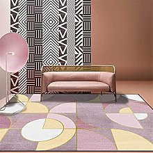 GYMS Modern Carpet, Light Luxury Abstract Small