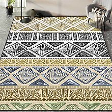 GYMS Modern Carpet, Moroccan Multicolor Triangle
