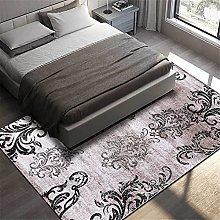 GYMS Modern Carpet, Retro Black And White Pattern