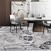 GYMS Modern Carpet, Vintage Old Black And White