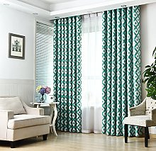 GYROHOME Modern Abstract Blackout Curtain Grommet