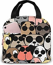 GYTHJ Cool Dogs Reusable Insulated Lunch Bag
