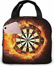 GYTHJ Cool Fire Dart Reusable Insulated Lunch Bag