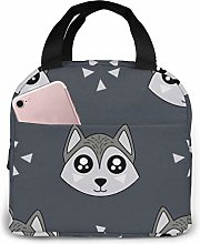 GYTHJ Cute Kids Wolf Lunch Bag Tote Bag,Work