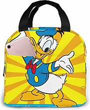 GYTHJ Lunch Bag Tote Happy Donald Duck Lunchbox
