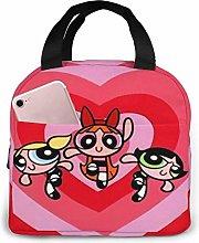 GYTHJ Lunch Bag Tote The Powerpuff Girls Love