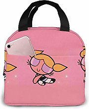 GYTHJ Lunch Bag Tote The Powerpuff Girls Lunchbox