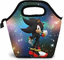 GYTHJ Sonic Shadow The Hedgehog Lunch Bags for Men