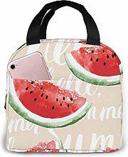GYTHJ Watermelon Reusable Insulated Lunch Bag