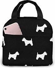 GYTHJ Westie West Highland Terrier Dog Silhouette