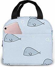 GYTHJ Whale Reusable Insulated Lunch Bag