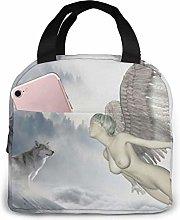 GYTHJ Wolf Reusable Insulated Lunch Bag