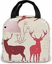 GYTHJ Xmas Reusable Insulated Lunch Bag
