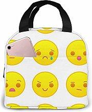 GYTHJ Yellow Emoticons Set Reusable Insulated