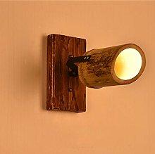 GYZLZZB Wall Lamp Solid Wood Spotlight Wall Light