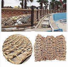 GZHENH Rope Net Nautical Decorative Fish Net Stair