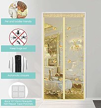 GZL-backpack Magnetic Screen Door, Polyester