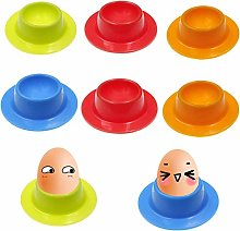 GZLCEU 8 Pcs Egg Cups Set, Reusable Kitchen Craft
