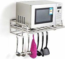GZLL Microwave Oven Rack, Wall-mounted, 304