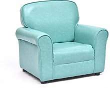 GZQDX Padded PU Leather Kids Recliner with