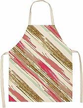 GZRUIGE 1Pcs Simple Pink Gold Series Cotton Linen