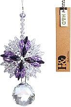 H&D Hanging Chandelier Crystals Ball Prisms