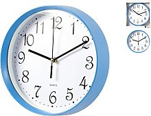 H & H 1534 H & H Round Wall Clock, 30, White/Light