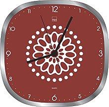 H&H Ellen 8056 Wall Clock 30 x 30 x 5 cm Red