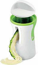 H&H Green Line Double Spiral Slicer 2 Lame Lime