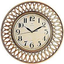 H&H Wall Clock, Copper, Diameter 40 cm