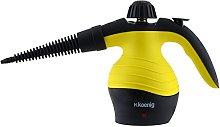 H.Koenig NV60 Hand-Held Steam Cleaner, 1000 W,