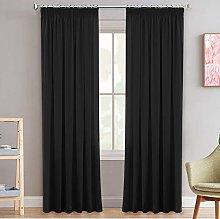 H.Versailtex 100% Blackout Pencil Pleat Curtain