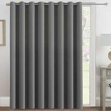 H.VERSAILTEX Blackout Patio Curtains 100 x 108