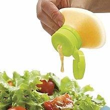 H.Y.FFYH Condiment Jars Mini Salad Dressing