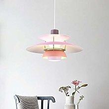 H.Y.FFYH Pendant Light 50 * 50 * 28cm Pink Single