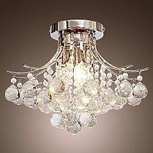 H.Y.FFYH Pendant Light Crystal Chandelier Bedroom