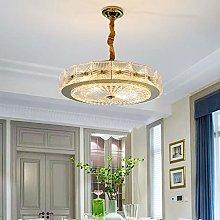 H.Y.FFYH Pendant Light Crystal Glass Ceiling Lamp