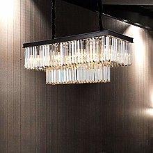 H.Y.FFYH Pendant Light Crystal Restaurant
