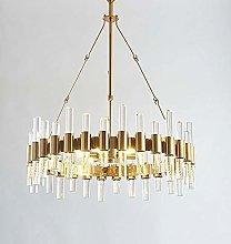 H.Y.FFYH Pendant Light Light Golden Chandelier