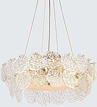 H.Y.FFYH Pendant Light Minimalist Art Glass Round