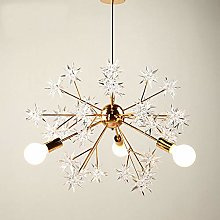 H.Y.FFYH Pendant Light Nordic Bedroom Lamp