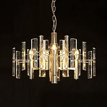 H.Y.FFYH Pendant Light Nordic Living Room Crystal