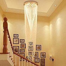 H.Y.FFYH Pendant Light Villa LOFT Stairs Waterfall