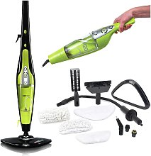 H20 HD 5-in-1 Steam Mop and Handheld Steam Cleaner