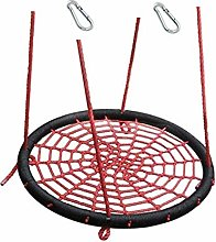 H2i Children's Nest Swing Garden Swing in Red
