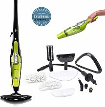 H2O HD Steam Cleaner - Kills 99.9% of Bacteria