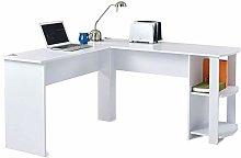 h4homedirect Modern Large Corner Desk L-Shaped